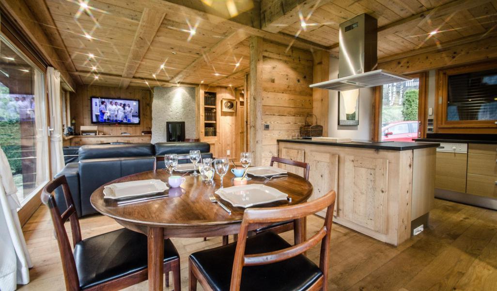 Location au ski Chalet duplex 3 pièces 4 personnes - Chalet June - Chamonix - Séjour
