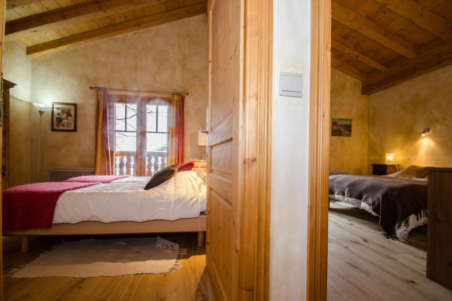 Location au ski Chalet 8 pièces 12 personnes - Chalet La Perseverance - Chamonix - Chambre