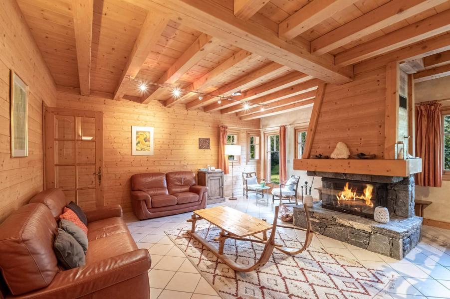 Аренда на лыжном курорте Chalet la Persévérance - Chamonix - Салон