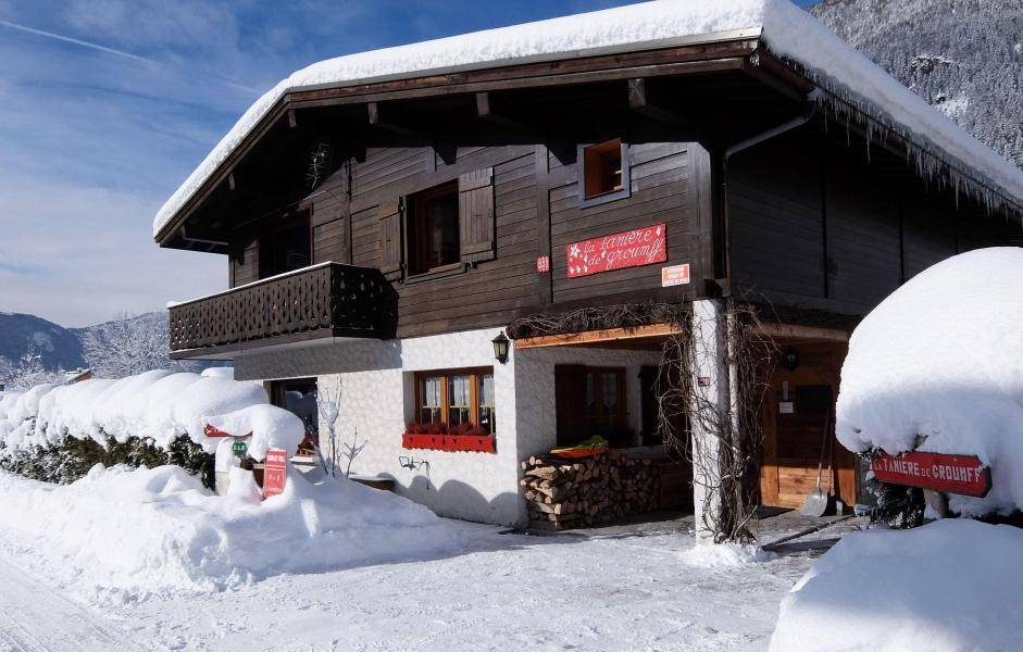 Vacanze in montagna Chalet la Tanière - Chamonix - Esteriore inverno
