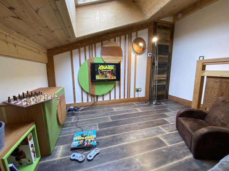 Location au ski Appartement 3 pièces 4 personnes (GOLF) - Chalet le Col du Dôme - Chamonix - Séjour