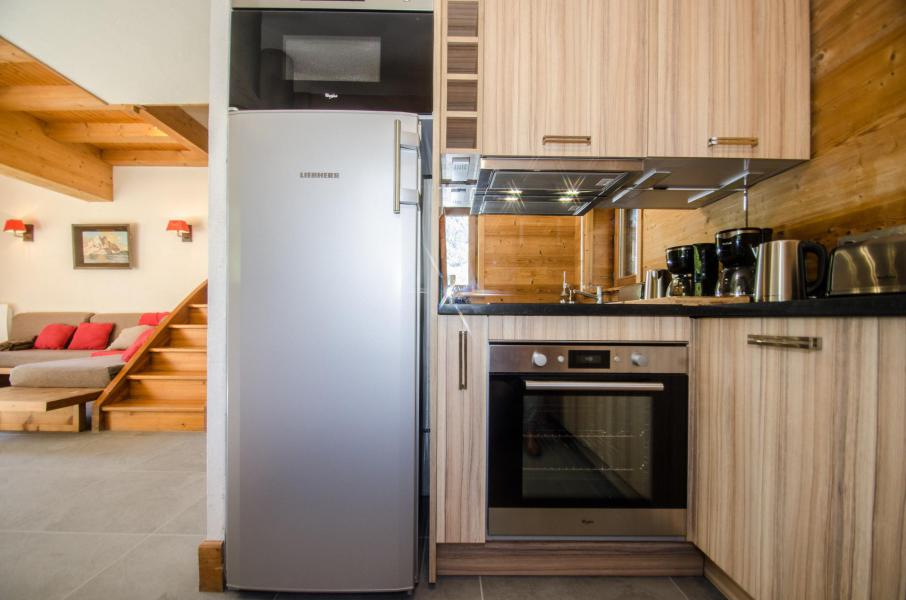 Аренда на лыжном курорте Шале 4 комнат 6 чел. - Chalet le Panorama - Chamonix - Кухня