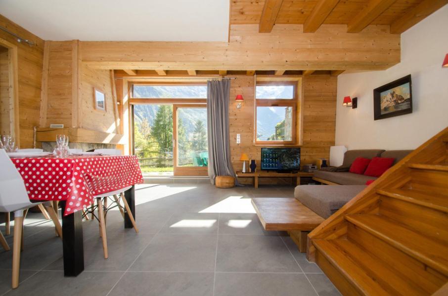 Location au ski Chalet 4 pièces 6 personnes - Chalet le Panorama - Chamonix - Chambre