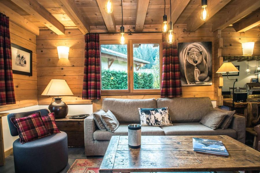 Аренда на лыжном курорте Шале 6 комнат 8 чел. - Chalet Macha - Chamonix - Салон