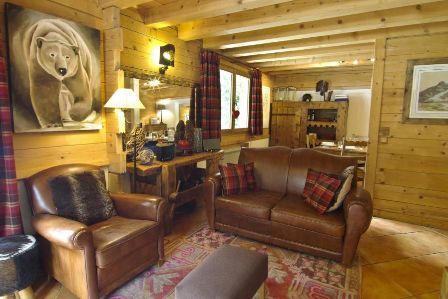 Location au ski Chalet 7 pièces 10 personnes - Chalet Macha - Chamonix - Canapé