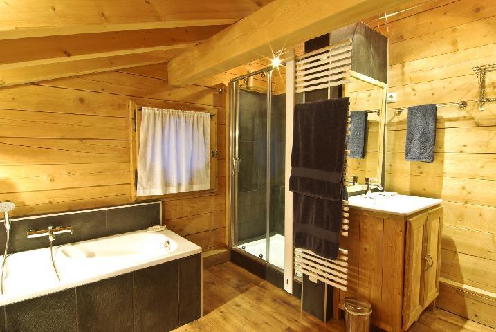 Location au ski Chalet 7 pièces 10 personnes - Chalet Macha - Chamonix - Salle de bains