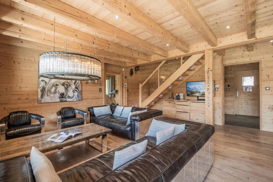 Location au ski Chalet duplex 6 pièces 10 personnes (Marius) - Chalet Marius - Chamonix - Salle à manger