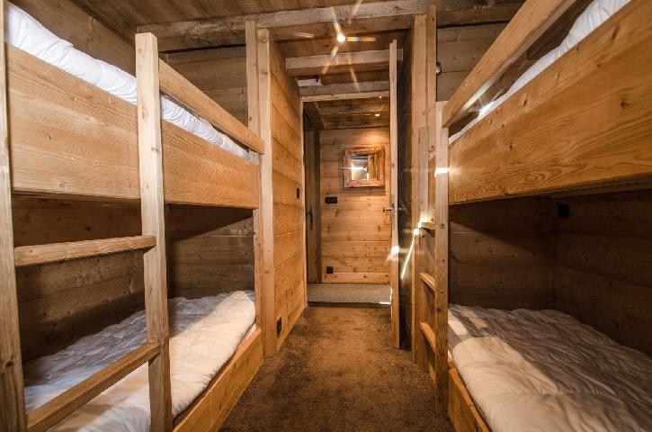 Location au ski Appartement 3 pièces cabine mezzanine 8 personnes - Chalet Maya - Chamonix - Lits superposés