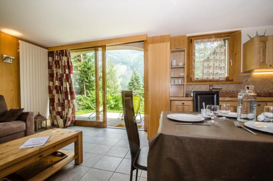 Location au ski Appartement 2 pièces 4 personnes - Chalet Mona - Chamonix - Séjour
