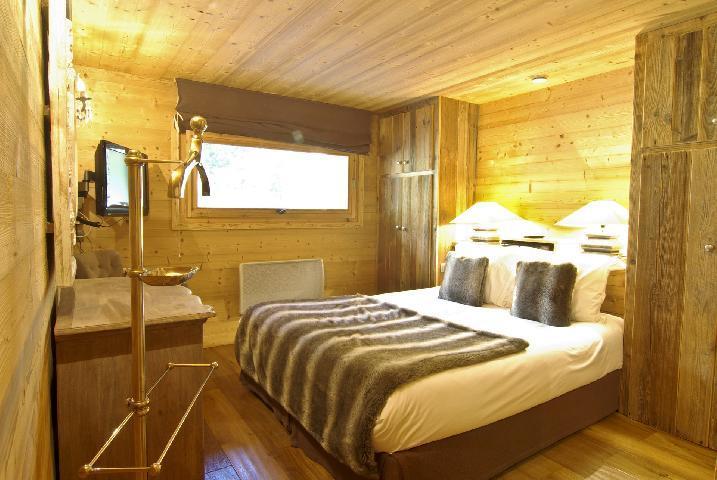 Location au ski Chalet 6 pièces 10 personnes - Chalet Peyrlaz - Chamonix - Chambre