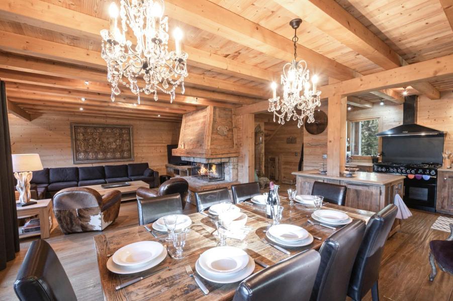 Location au ski Chalet 6 pièces 10 personnes - Chalet Peyrlaz - Chamonix - Coin séjour