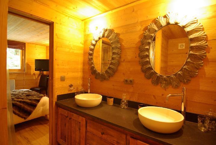Location au ski Chalet 6 pièces 10 personnes - Chalet Peyrlaz - Chamonix - Salle de bains