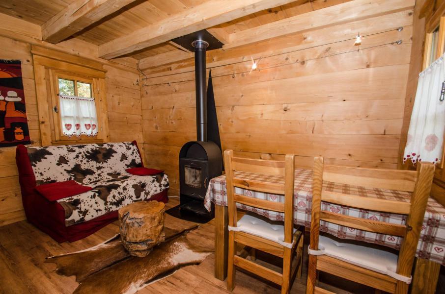 Rent in ski resort 2 room duplex apartment 3 people - Chalet Sépia - Chamonix - Living room