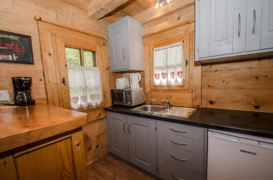 Location au ski Appartement duplex 2 pièces 3 personnes - Chalet Sépia - Chamonix - Cuisine
