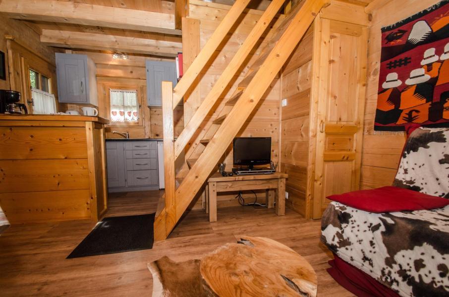 Location au ski Appartement duplex 2 pièces 3 personnes - Chalet Sepia - Chamonix - Escalier