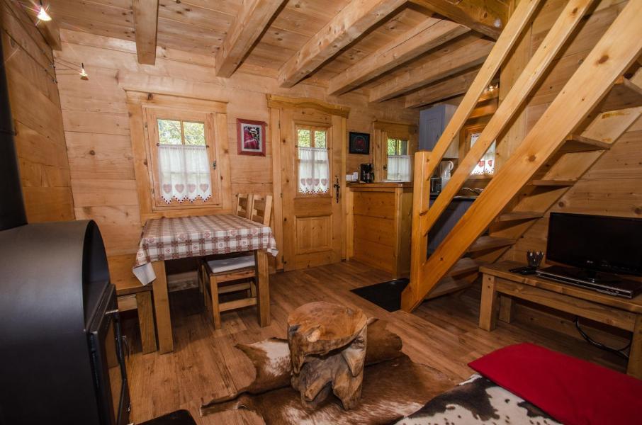 Location au ski Appartement duplex 2 pièces 3 personnes - Chalet Sepia - Chamonix - Poêle à bois