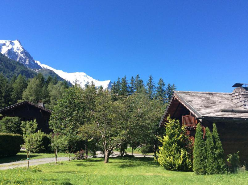 Location au ski Chalet Sépia - Chamonix - Séjour