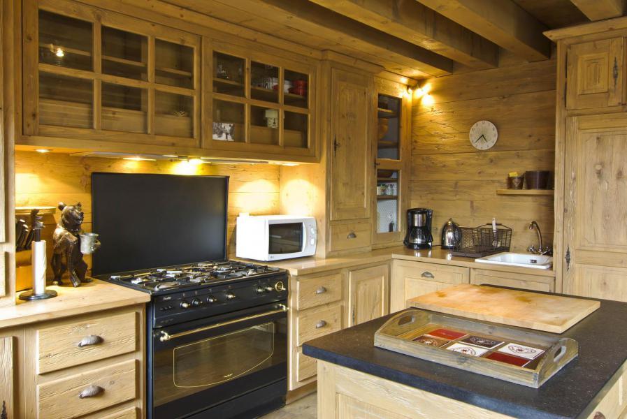 Location au ski Chalet 4 pièces 6 personnes - Chalet Sérac - Chamonix - Cuisine