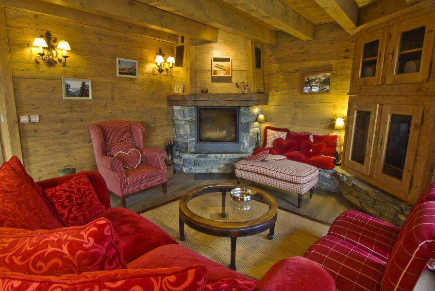 Location au ski Chalet 4 pièces 6 personnes - Chalet Sérac - Chamonix - Séjour