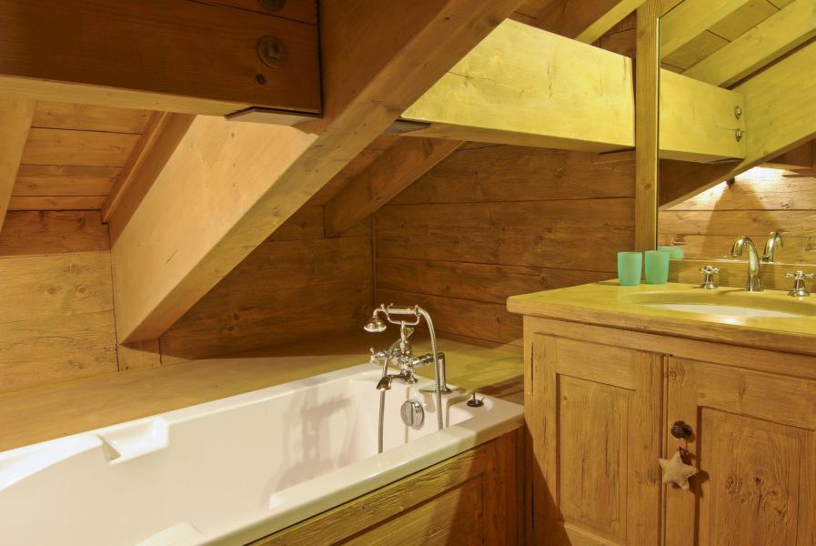 Location au ski Chalet 5 pièces 6 personnes - Chalet Sérac - Chamonix - Salle de bains
