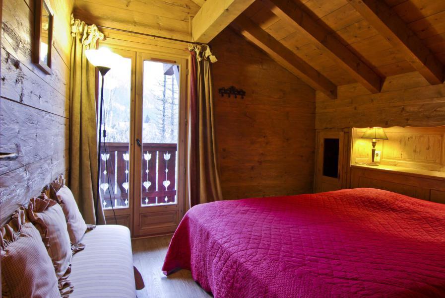 Location au ski Chalet 5 pièces 7 personnes - Chalet Serac - Chamonix - Chambre