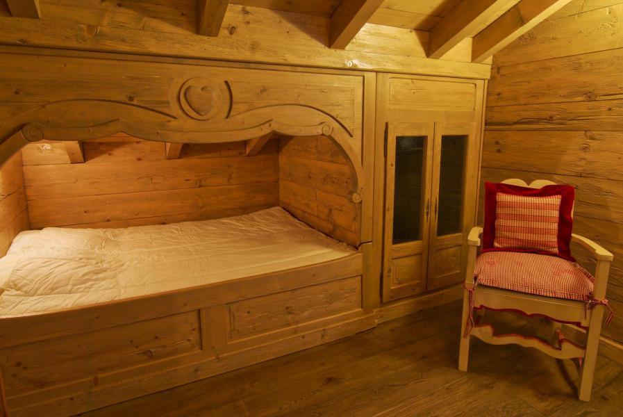 Location au ski Chalet 5 pièces 7 personnes - Chalet Serac - Chamonix - Coin nuit