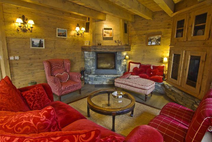 Location au ski Chalet 5 pièces 7 personnes - Chalet Serac - Chamonix - Séjour
