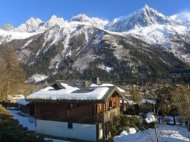 Vakantie in de bergen Appartement 2 kamers 4 personen (1) - Clos des Outannes - Chamonix - Buiten winter