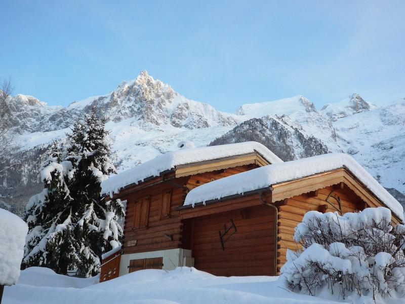 Holiday in mountain resort 1 room chalet 2 people (1) - De Thierry - Chamonix - Winter outside