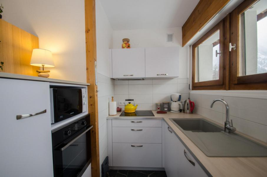 Rent in ski resort 2 room apartment 4 people (FEDORA) - Flegere et Golf - Chamonix - Kitchenette