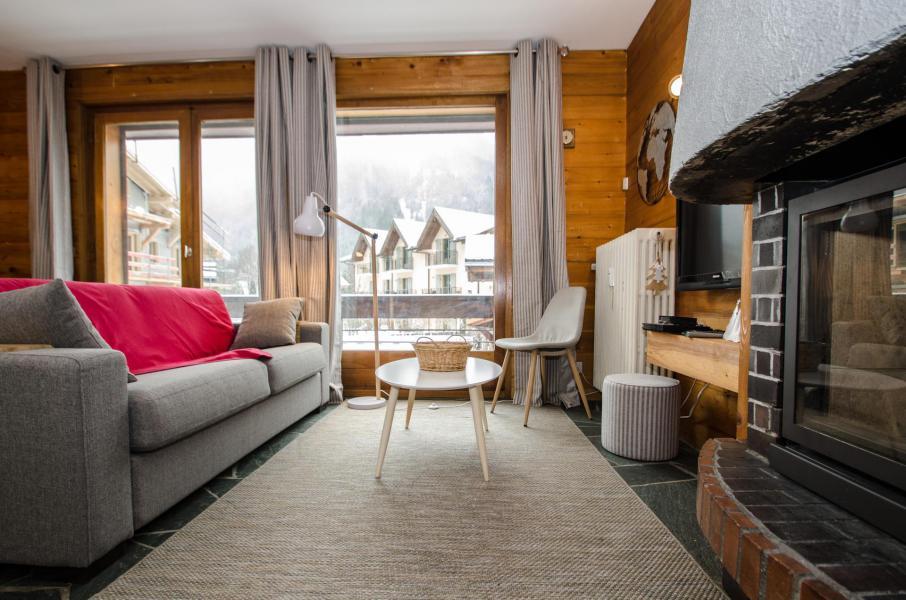 Rent in ski resort 2 room apartment 4 people (FEDORA) - Flegere et Golf - Chamonix - Settee