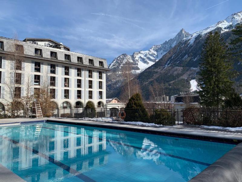 Location au ski Folie Douce Hôtel - Chamonix - Extérieur hiver