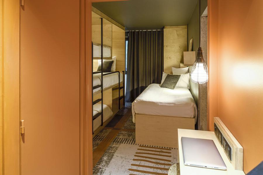 Location au ski Folie Douce Hôtel - Chamonix - Coin nuit