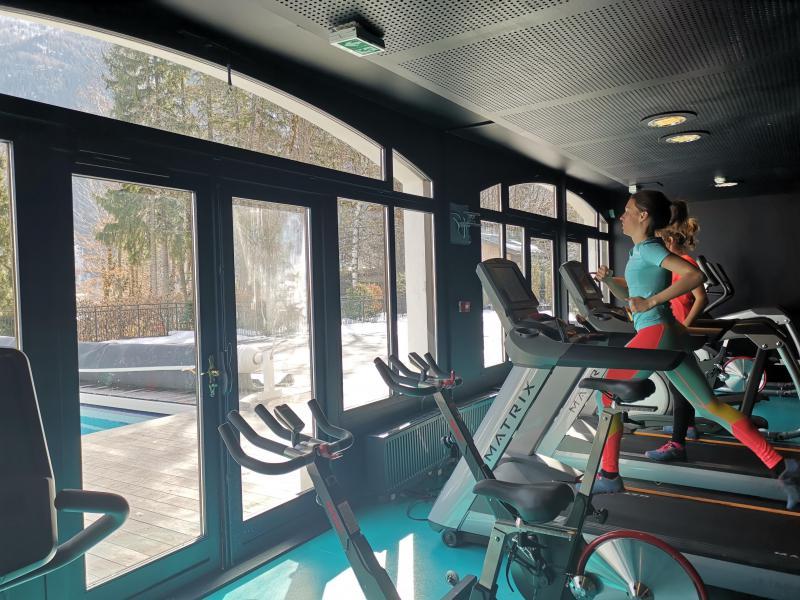 Location au ski Folie Douce Hôtel - Chamonix - Espace fitness