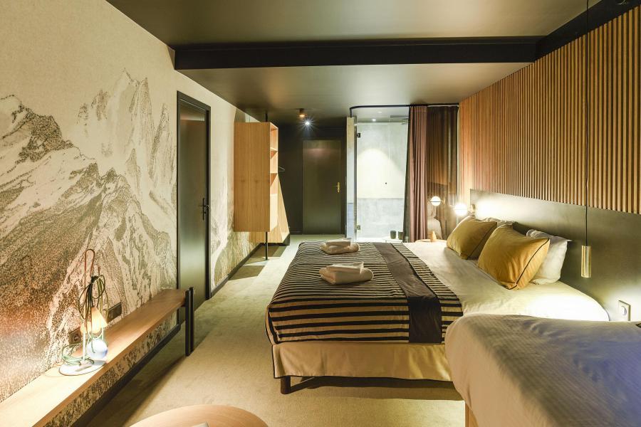 Skiverleih Folie Douce Hôtel - Chamonix - Schlafzimmer