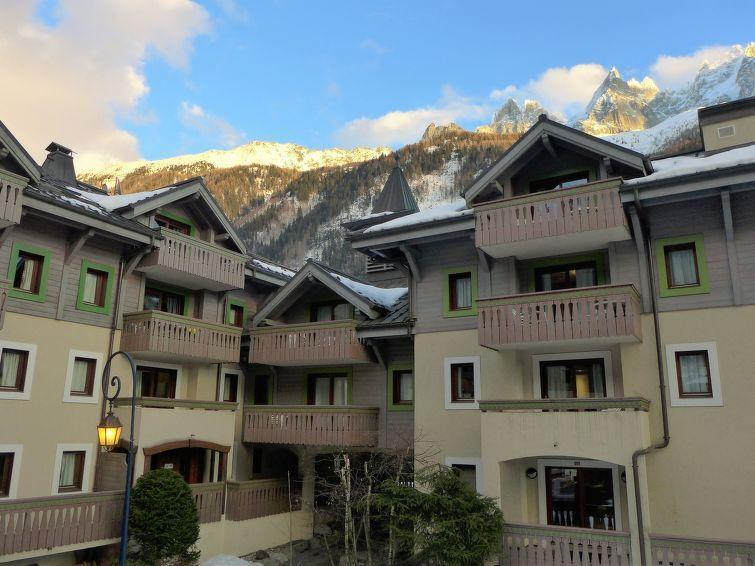 Wakacje w górach Apartament 3 pokojowy 4 osób (1) - Ginabelle 1 - Chamonix - Zima na zewnątrz
