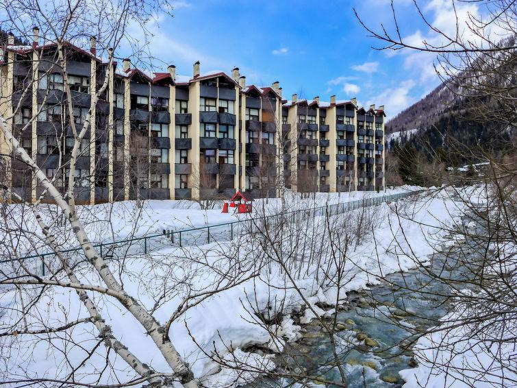 Holiday in mountain resort Grand Roc - Chamonix - Winter outside