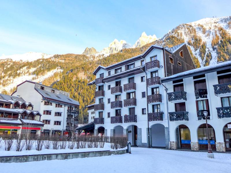 Holiday in mountain resort 1 room apartment 2 people (3) - Iris - Chamonix - Winter outside