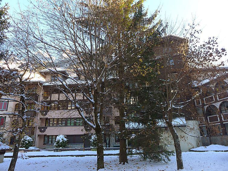 Holiday in mountain resort Jonquilles - Chamonix - Winter outside