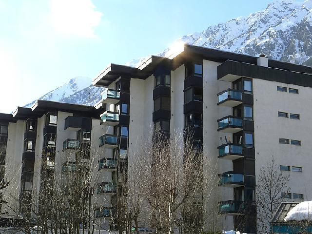 Holiday in mountain resort 1 room apartment 2 people (2) - L'Aiguille du Midi - Chamonix - Winter outside