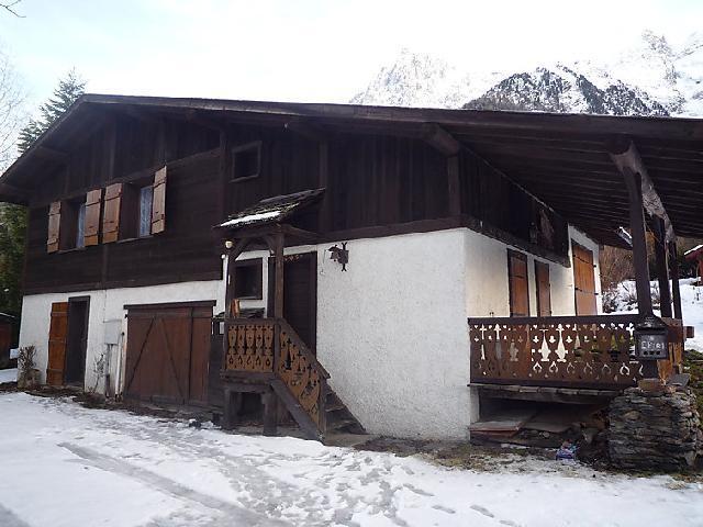 Location au ski Chalet 6 pièces 12 personnes (1) - L'Piri - Chamonix - Extérieur hiver