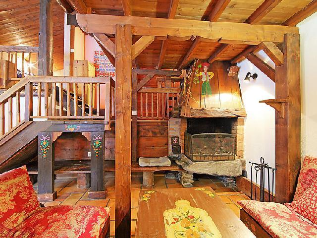 Location au ski Chalet 6 pièces 12 personnes (1) - L'Piri - Chamonix - Appartement