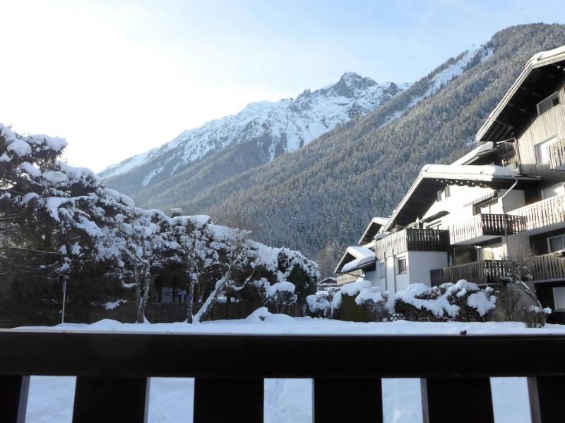 Holiday in mountain resort 1 room apartment 2 people (1) - Lachenal - Chamonix - Winter outside