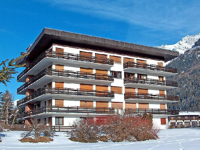 Holiday in mountain resort 3 room apartment 4 people (1) - Le Bois du Bouchet - Chamonix - Winter outside