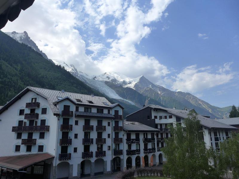 Vakantie in de bergen Appartement 1 kamers 2 personen (4) - Le Chailloud - Chamonix - Buiten winter