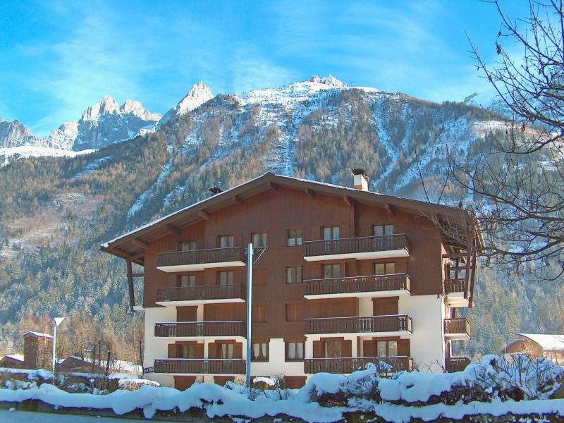Holiday in mountain resort 1 room apartment 2 people (1) - Le Choucas - Chamonix - Winter outside