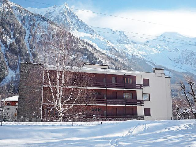 Holiday in mountain resort 2 room apartment 4 people (1) - Le Grand Triolet - Chamonix - Winter outside