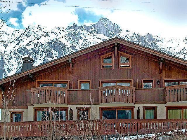 Vakantie in de bergen Appartement 3 kamers 4 personen (1) - Le Krystor - Chamonix - Buiten winter