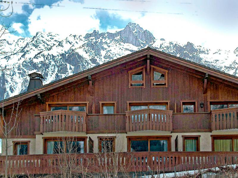 Holiday in mountain resort 3 room apartment 4 people (1) - Le Krystor - Chamonix - Winter outside