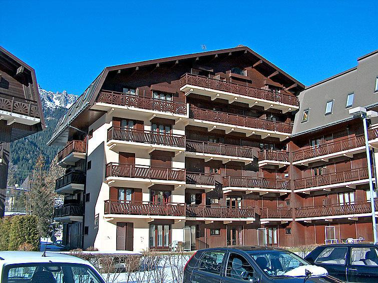 Holiday in mountain resort 3 room apartment 6 people (3) - Le Lyret 1 et 2 - Chamonix - Winter outside